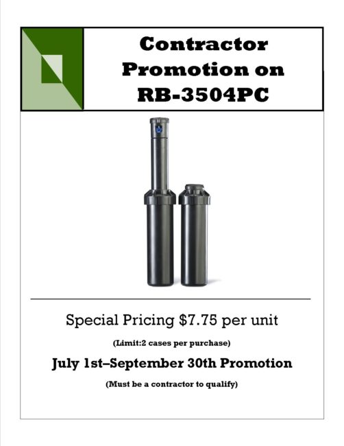 3504 Promotion